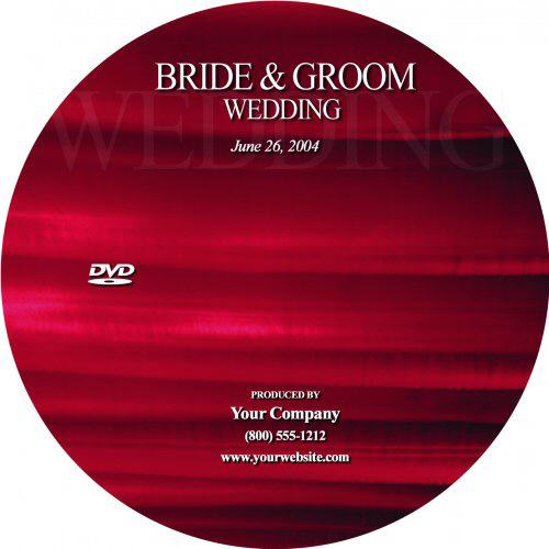 Wedding DVD Cover Template